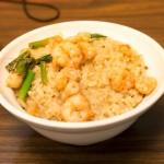 台南名物は担仔麺だけではない。エビ飯も名物です。集品蝦仁飯