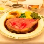 台北でもローリーズプライムリブ。誕生日にピッタリのレストラン、ハレの日は肉。