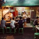 台南名物 鱔魚意麵の名店「阿江炒鱔魚」がすごく美味しかった。