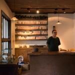 台北の小慢にて、木工作家の三谷龍二さんの個展が開催されたので見てきました。