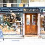台北でオシャレなセレクトショップ、Sense 30(センス・サーティー)は自転車屋さんが始めたセレクトショップです。
